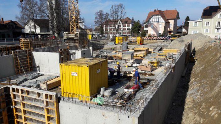 Wohnen am Dorfbach, Stand 2017.03