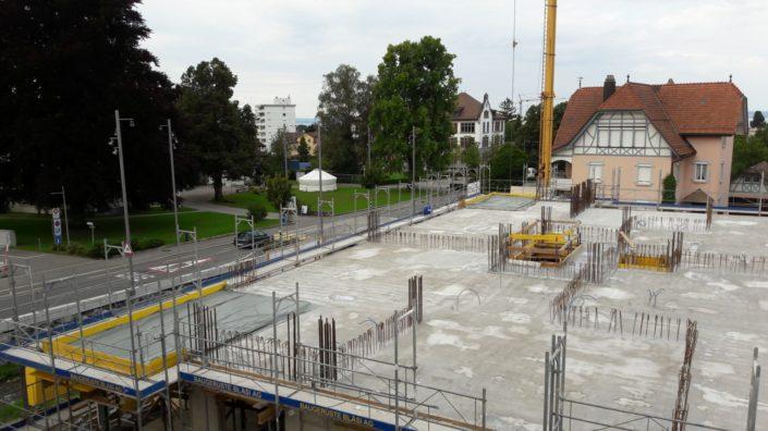 Wohnen am Dorfbach / Stand 2017.08