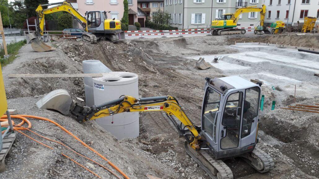 Wohnen am Dorfbach / Stand 2017.04